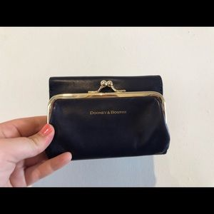 Dooney and Bourke coin purse/wallet